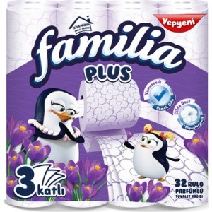 Familia Parfümlü Tuvalet Kağıdı 3 Katlı 32 Li