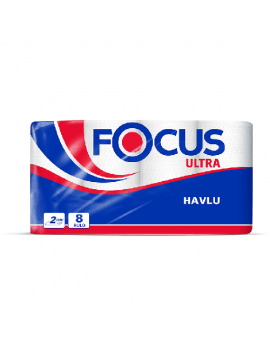 Focus Rulo Havlu Çift Katlı 8 Li